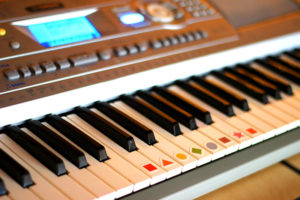 Keyboard and Piano Key Stickers