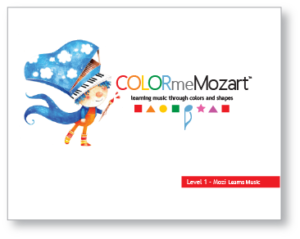 Color Me Mozart Level 1: Mozi Learns Music