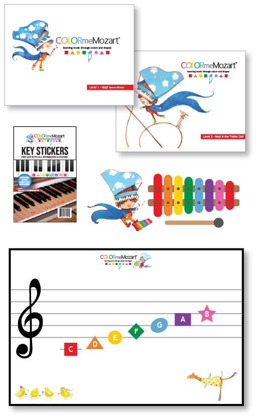 Little Mozart Music Education Bundle Set