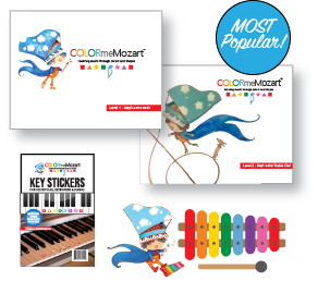 Color Me Mozart Little Mozart Music Set