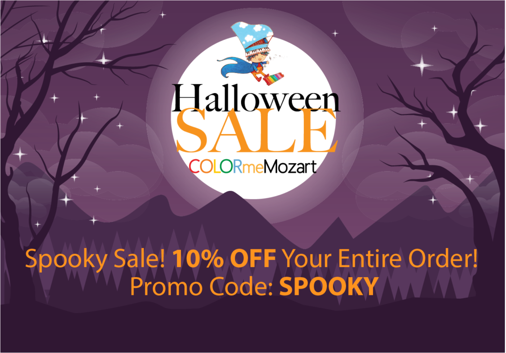 Color Me Mozart™ Halloween Sale