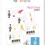 Color Me Mozart Flash Cards Level 2