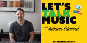 Let's Talk Music with Adrian Edward